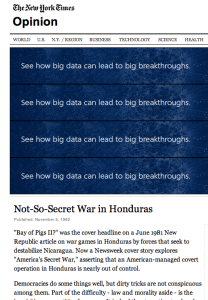 1982 11 5 Not so secret war NYT Screen Shot 2015-01-17 at 12.30.24 AM