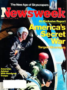 1982 11 8 Newsweek AMERICA'S SECRET WAR Screen Shot 2015-03-28 at 1.35.05 AM