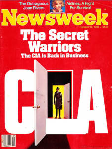 1983 10 10 Newsweek CIA BACK IN BUSINESS Screen Shot 2015-03-27 at 3.41.56 PM