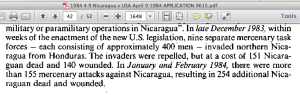 1983 12 20 & Jan Feb Attacks on Nicaragua, Invaded Northern Provinces Screen Shot 2015-02-25 at 6.22.04 PM