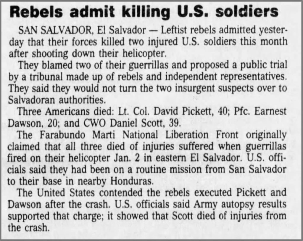 1991 1 22 Courier Journal Rebels admit killing US soldiers