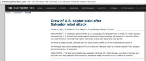 1991 1 4 Balt Sun Crew of US copter slain