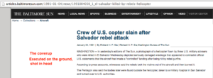 1991 1 4 Baltimore Sun US crew slain after Salvador attack