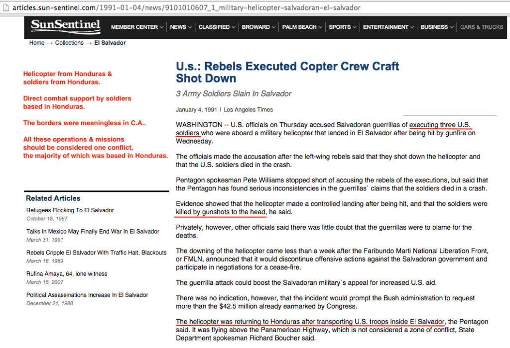 1991 1 4 Sun Sentinel rebels execute copter crew, craft shot down