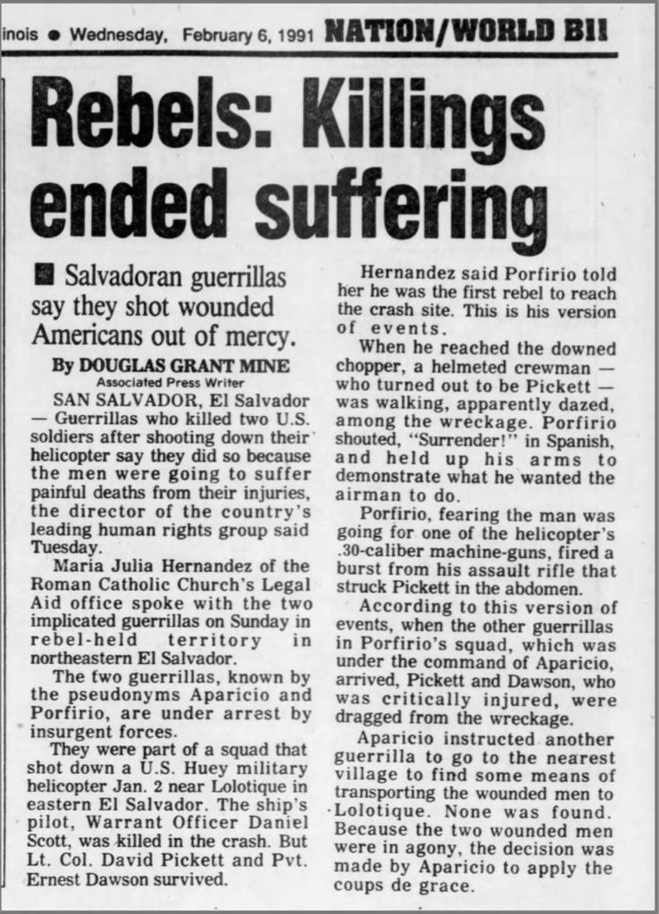 1991 2 6 Herald & Review Rebels killings ended suffering