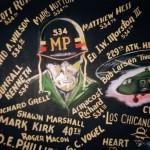 534th MP Co wall mural