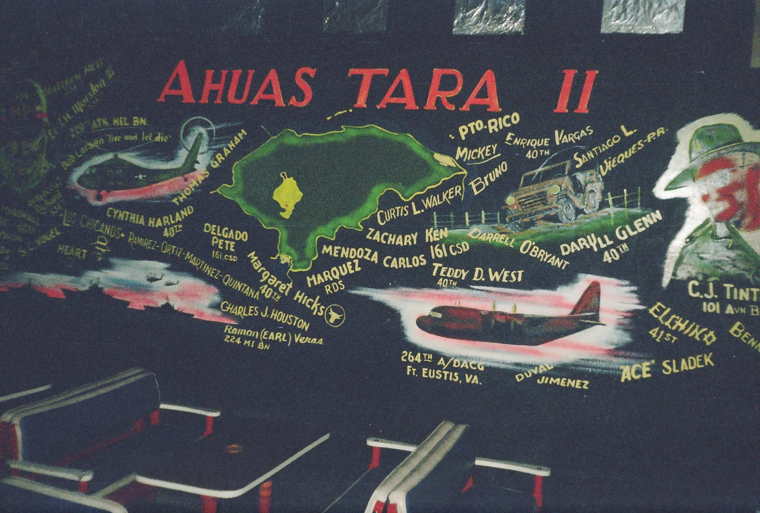 Ahuas Tara II wall mural