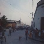 Comayagua street parade