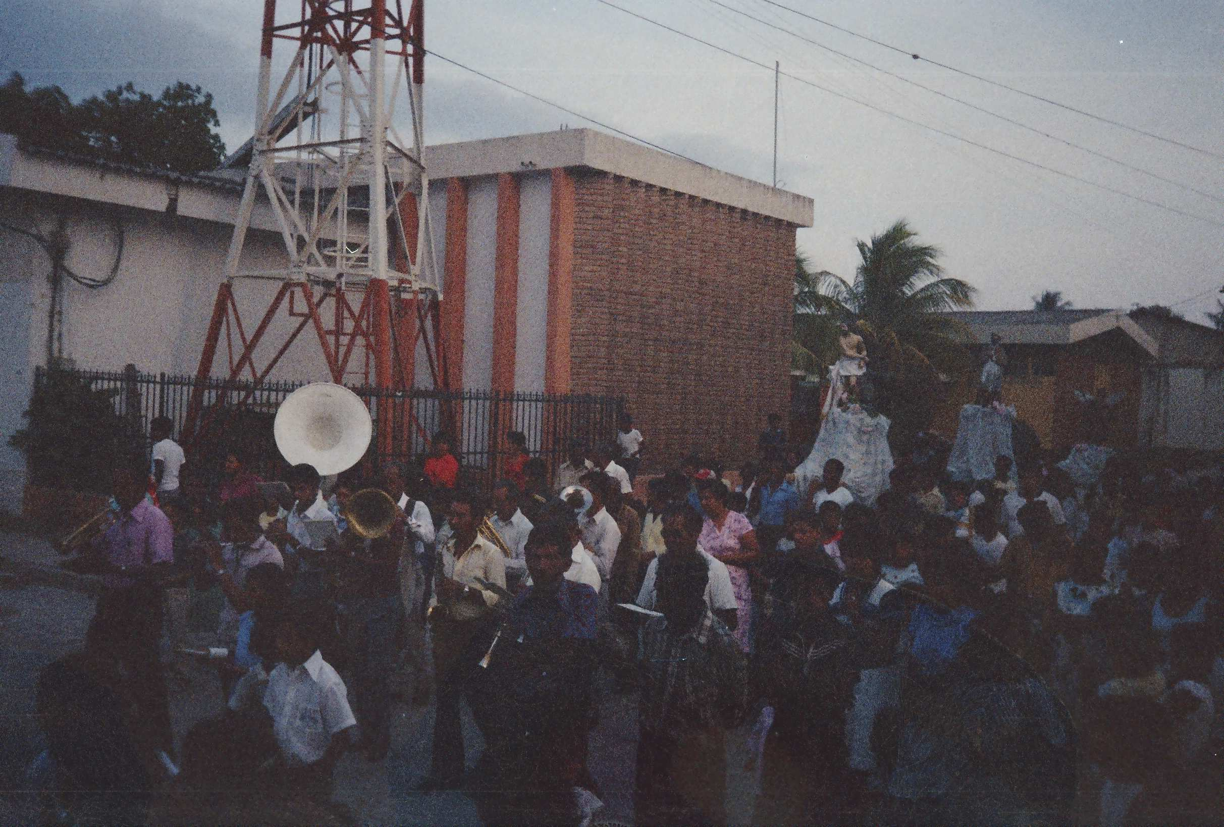 Comayagua street religous parade 2