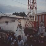 Comayagua street religous parade 4