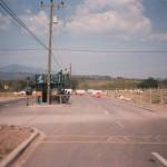 Palmerola front gate 1984