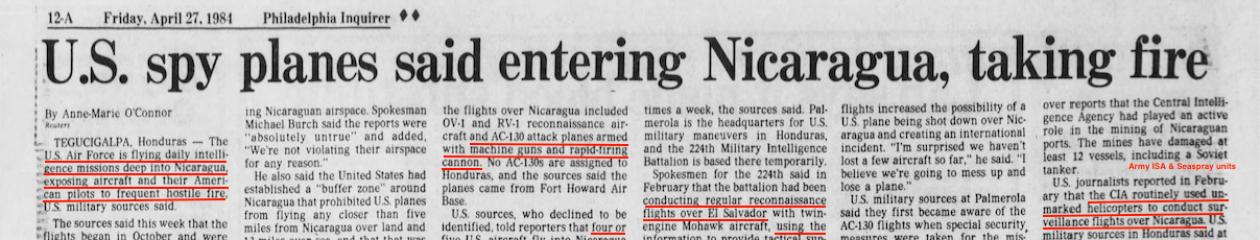 Central America War